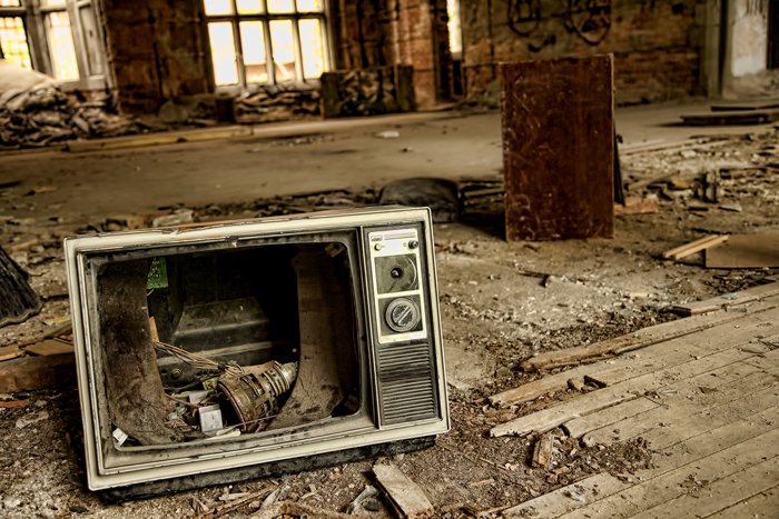 Advertisers may be leaving TV for good