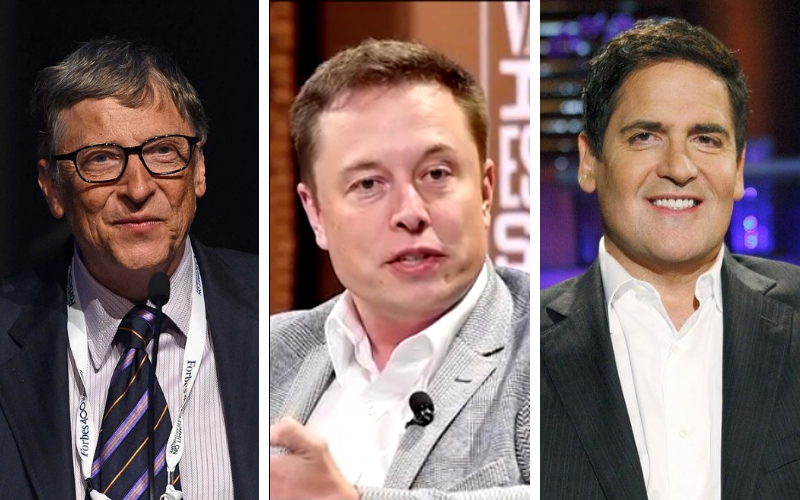 The three bad habits Mark Cuban, Bill Gates and Elon Musk quit before they became successful