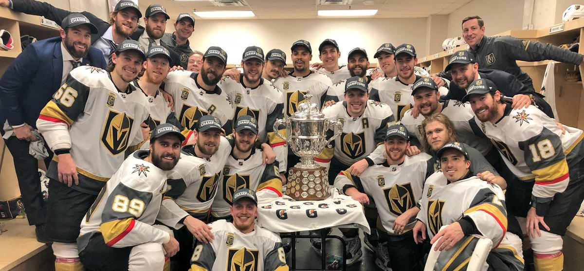 Small businesses could learn a lot from the Cinderella success story of the Las Vegas Golden Knights