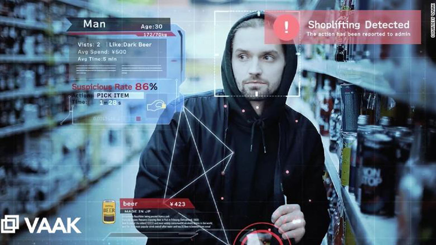 Using AI to catch shoplifters. Is it wrong?